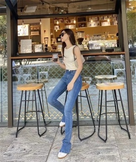Urban Casual Simple Jeans NSLD35160