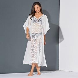 Lace Sexy Chiffon Beach Dress NSSE35236
