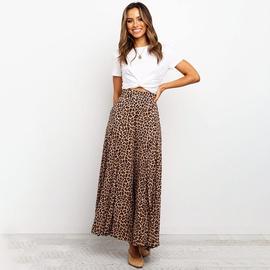 Leopard Print Loose Wide Leg Pants NSHZ35256