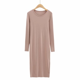 Sexy Stretch Long-sleeved Bottoming Dress NSHS35377