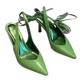 Simple Satin High Heel Sandals NSCA38271