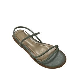 Temperament Soft Flat Roman Strap Sandals NSCA38284