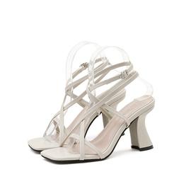 Fashion High Thick-heeled Shoes NSCA38285