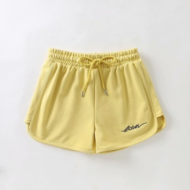Embroidery Cotton All-match Sport Shorts NSAM38370