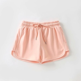 Solid Color Casual Sports Shorts  NSAM38383
