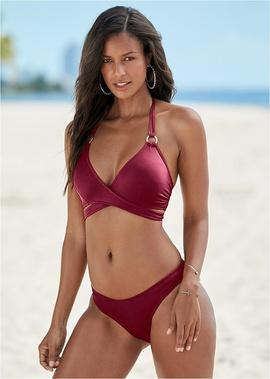 Sexy Cross Strap Bikini  NSHL38564