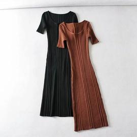 Spring Sexy Slim Stretch Knitted Dress NSAC40572