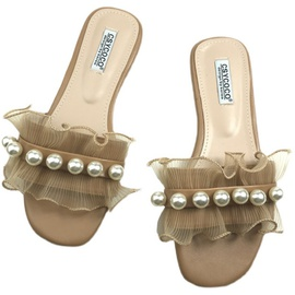 Sweet Pearl Decoration Slippers  NSHU40588