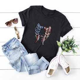Popular Wings Love Pure Cotton Short-sleeved T-shirt NSSN40885