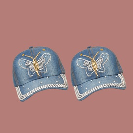 Spring New Butterfly Baseball Fashion All-match Cap NSTQ41186