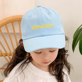 Fashion Embroidery Children's Baseball Cap  NSCM41312