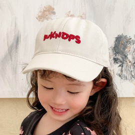 Spring And Summer Letter Embroidery Children's Cap  NSCM41314