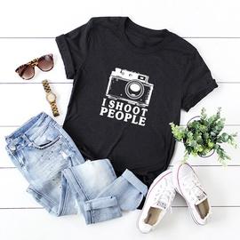 I Shoot People Cartoon Printing T-shirt NSSN41948