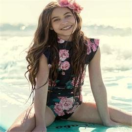 Printing Children's Split Swimsuit NSHL42891