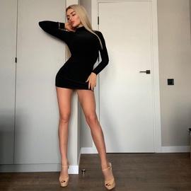 Fashion High-neck Long-sleeved Slim Skirt NSZY38622