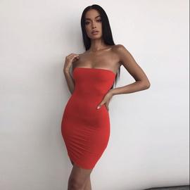 Fashion Sexy Tube Top Dress  NSZY38631