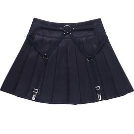 High Waist Pleated Skirt  NSXE38661