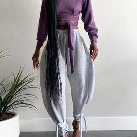 Fashion Casual Loose Sweatpants NSXE38692
