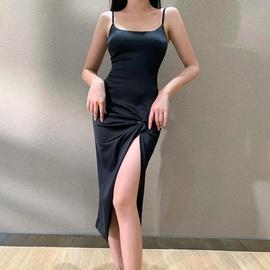 Fashion New Sexy High Slit Tight Suspender Skirt NSXE38713