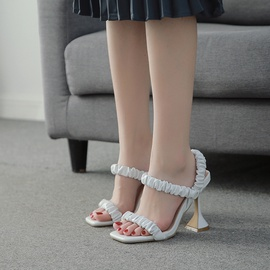 New Thick High-heeled Sandals NSCA43563