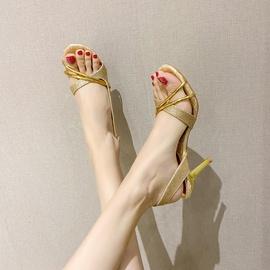 Hollow Fashion High Heels Summer Sandals  NSCA43572
