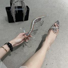 High-heeled Transparent Fashion Sandals NSCA43574