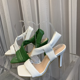 New Square Toe High Heel Sandals NSCA43593