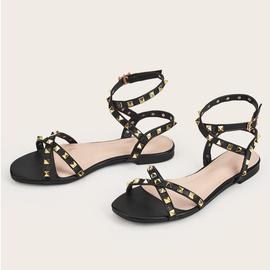 Summer New Cross Strap Sandals NSHU43600