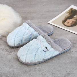 Fashion Print Soft-soled Cotton Slippers NSPE43779