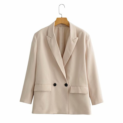 Fashion Two-breasted Suit Jacket NSAM43881
