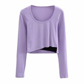 New Elastic Long-sleeved T-shirt NSHS44288