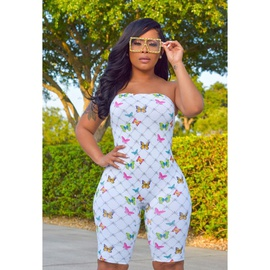 New Sexy Tight-fitting Printed Jumpsuit NSME44351
