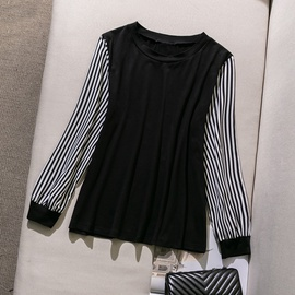 Loose Large Size Long-sleeved T-shirt  NSGHY44391