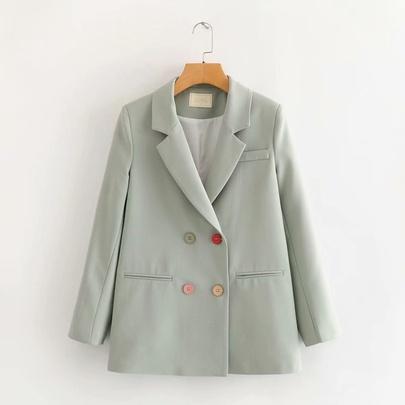 Casual Buttoned Blazer NSAM44618