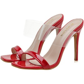 Leather High Heeled Sandals NSSO44733