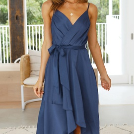 Summer New Style Solid Color Dress NSYSB44915