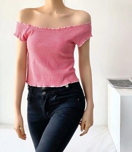 New Summer Sexy Solid Color T-shirt NSHS45058