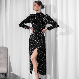 Retro High-waisted Dress NSYSB45409