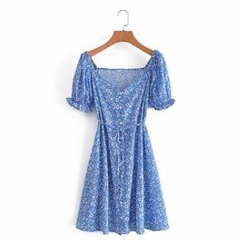 Spring Floral Lace Dress NSAM45436