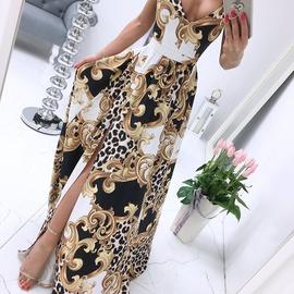 Summer New Printed Dress NSAXE45556