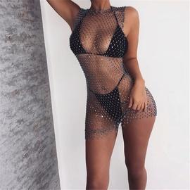 Flash Round Neck Dress NSXYA45728