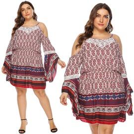 New Plus Size Strapless Sexy Dress NSOY45971