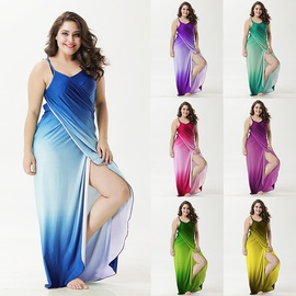 Printed Tie-dye Dress NSOY45984