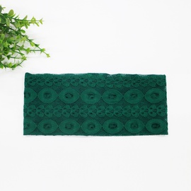 Popular Solid Color Hollow Lace Headscarf NSOY46129