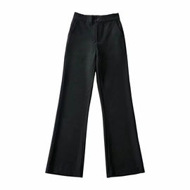 Retro High-waisted Slim Suit Pants NSAC38909