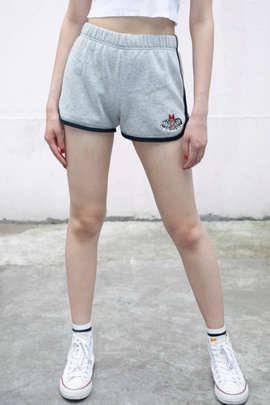 Fashion Simple Embroidery Sports Shorts  NSAC38919