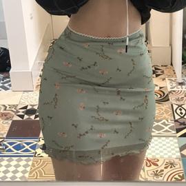 Ditsy Floral A-line Skirt  NSLQ38986