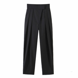 Casual Simple Solid Color Straight Pants  NSLD39022