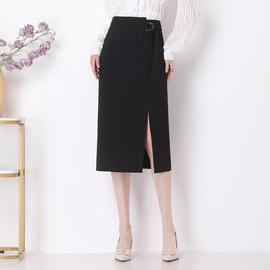 Fashion Slim High Waist Plit Midi Skirt NSYZ39258