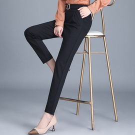 Large Size Temperament Classic High Stretch Suit Pants NSYZ39260